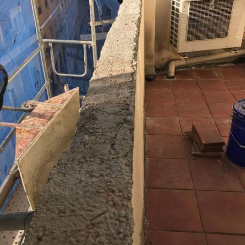 Rehabilitación de fachadas Madrid Calle Norte