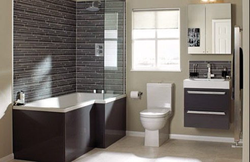 Reformar ba os peque os aprovechar al m ximo de su espacio for 4 piece bathroom ideas