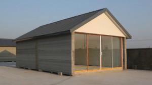 empresa de construccion y reformas casa impresa 3d perspectiva lateral