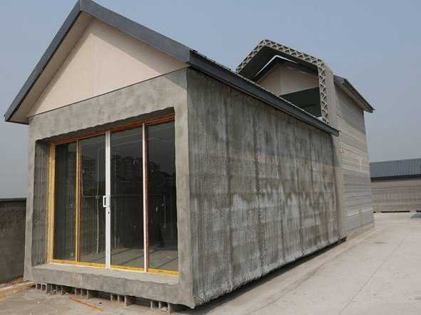 empresa de construccion y reformas casa impresa  3d