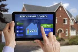 empresa de construccion y reformas panel de control domotica tablet